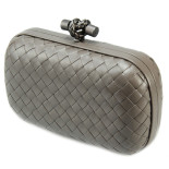 Clutch_Bottega_Veneta_knot_leather_d.grey-1