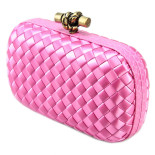 Clutch_Bottega_Veneta_knot_satin_pink-1